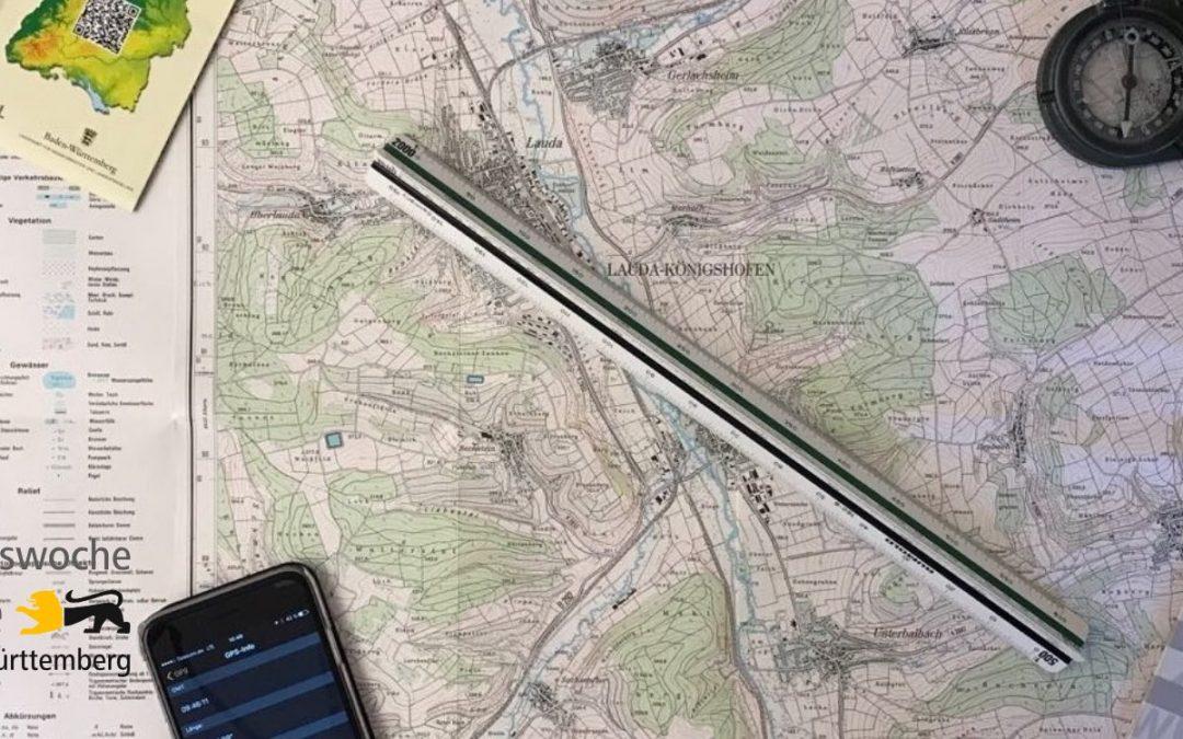 Wege- und Gewässerplan erstellen